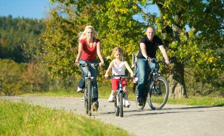family-biking